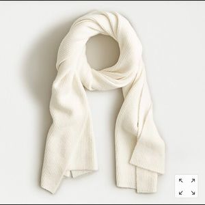 NWT J.Crew Ribbed Super Soft Yarn Scarf